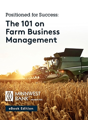 the 101 on farm business management ebook cover