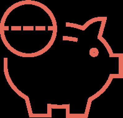 classic savings icon