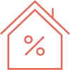 home mortgage loans icon